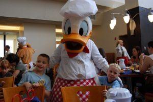 plan repas à Walt Disney World