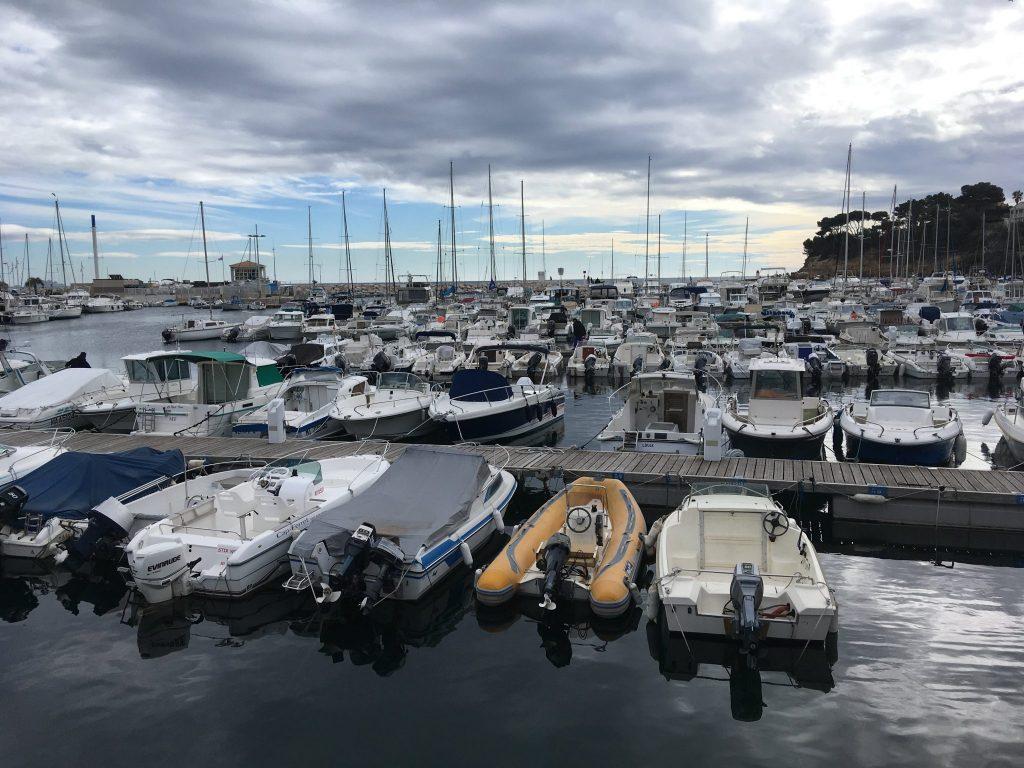 La mer en Provence ne connaît pas la crise, même en hiver !
