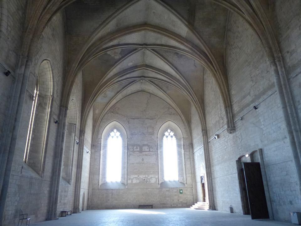 Le Palais des Papes, un bel exemple d'architecture médiévale.